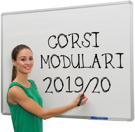 Bando corsi modulari 2019/20